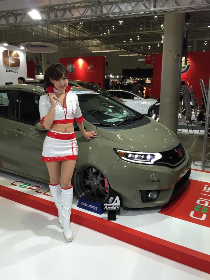 2015 Honda Fit Gets Widebody Kit And Custom Led Lights Autoevolution