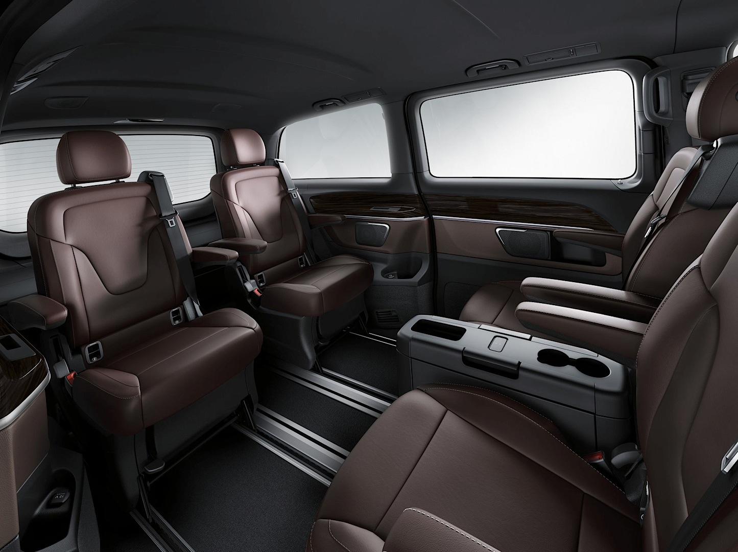 2015 MercedesBenz VClass Edition 1 Gets Detailed Photo Gallery  autoevolution