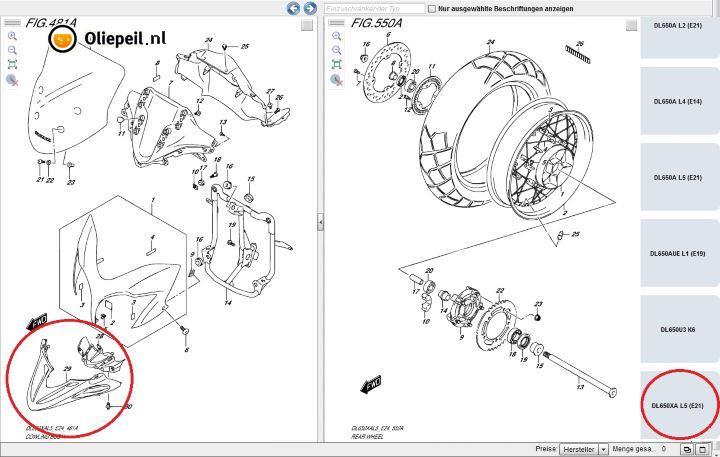 2015 Suzuki V-Strom 650 Adventure Has Wire-Spoked Wheels