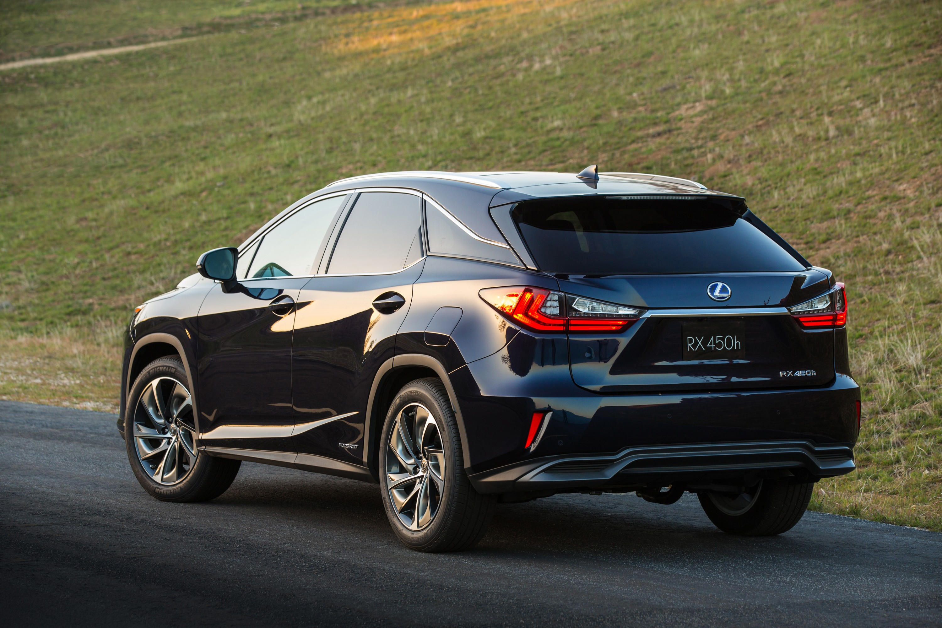 2016 Lexus RX 350 F Sport and RX 450h Show Up in NYC autoevolution