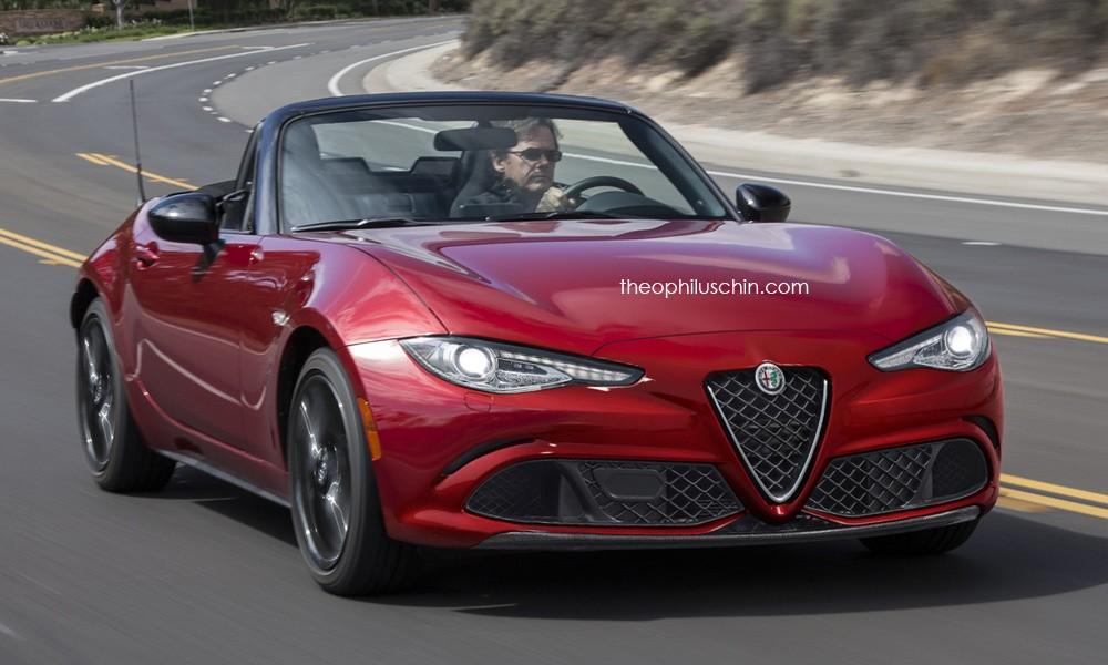 2016 Mazda MX 5 Rendered As Scion Alfa Romeo And Tesla