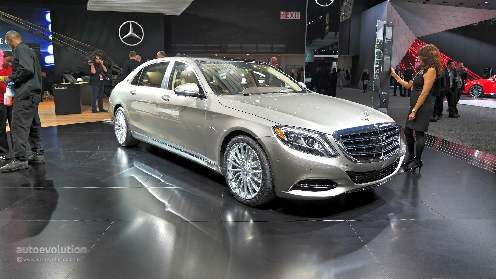 2016 MercedesMaybach S600 The Wolf of Wall Street in Detroit Live Photos  autoevolution