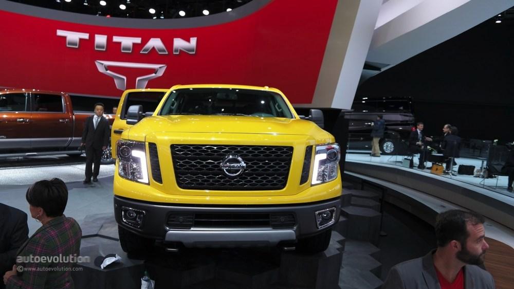 medium resolution of 2016 nissan titan xd cummins diesel live photo 2015 detroit auto show