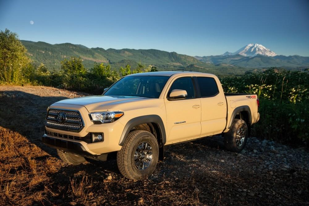 medium resolution of  2016 toyota tacoma pickup truck