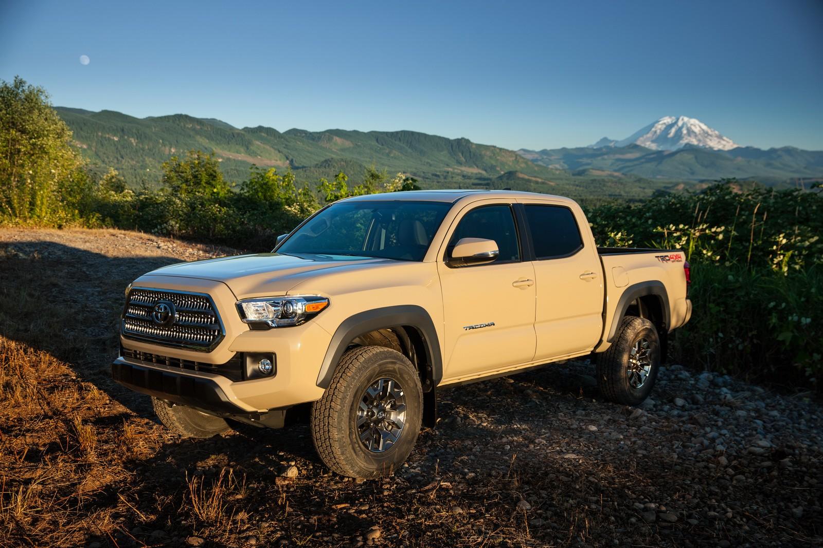 hight resolution of  2016 toyota tacoma pickup truck