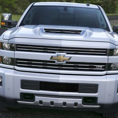 84 Chevy Truck Wiring Diagram Chromium Iron Phase 2017 Chevrolet Silverado 2500 Hd Boasts Functional Hood Scoop - Autoevolution