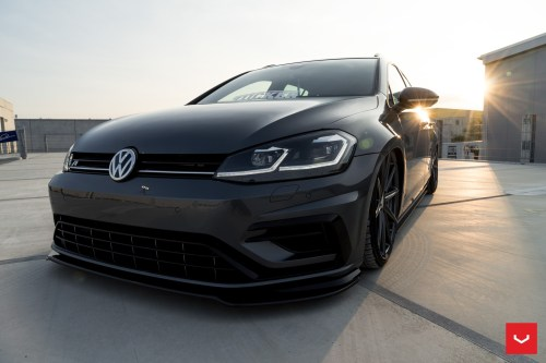 small resolution of  2017 golf r variant gets stanced on vossen wheels for tuning debut