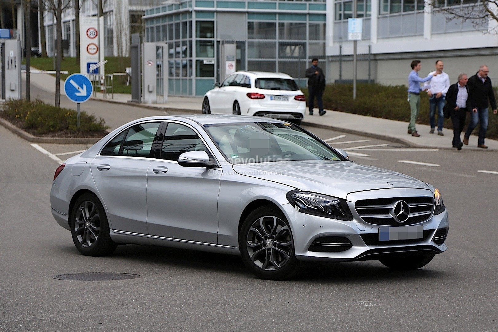 Your trusted car dealership group in hampton, va. 2017 Mercedes-Benz C-Class Facelift Spied in Germany