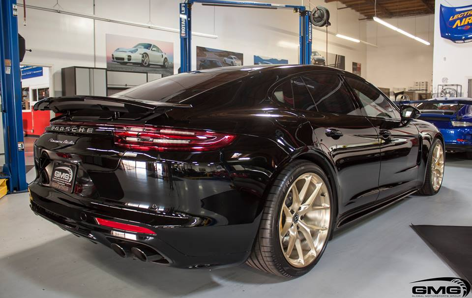 2017 Porsche Panamera Turbo On HRE Brushed Gold Wheels Is