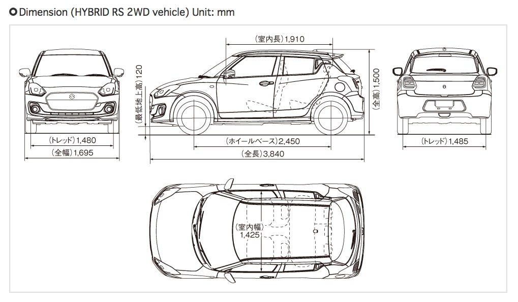 2017 Suzuki Swift Goes Official in Japan, European Debut