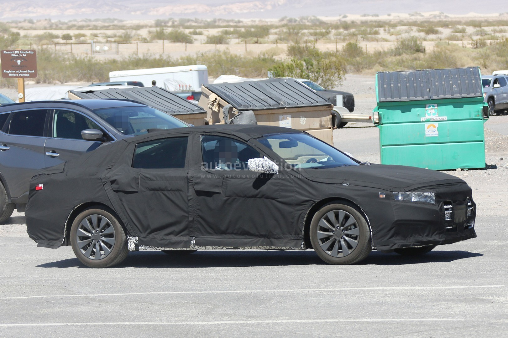 2018 Honda Accord Spied For The First Time Partially