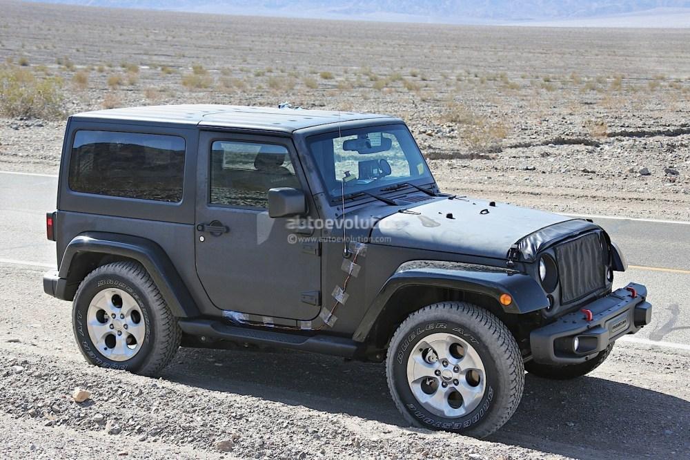 medium resolution of  2018 jeep wrangler spyshot