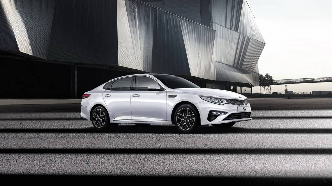 2019 kia optima facelift says hello in south korea - autoevolution