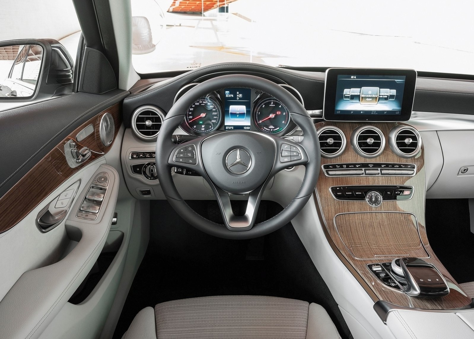 hight resolution of  2015 mercedes benz c class interior