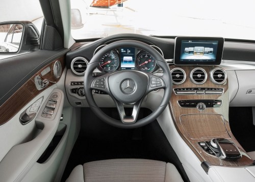 small resolution of  2015 mercedes benz c class interior