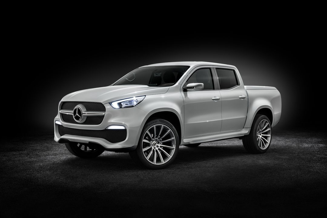 2018 Mercedes Xclass Truck Prototype Shows Production