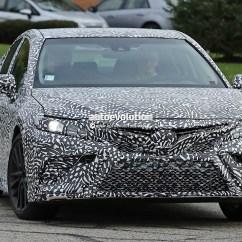 Toyota All New Camry 2012 Fitur Keamanan Kijang Innova 2018 Teased Ahead Of 2017 Detroit Auto Show ...