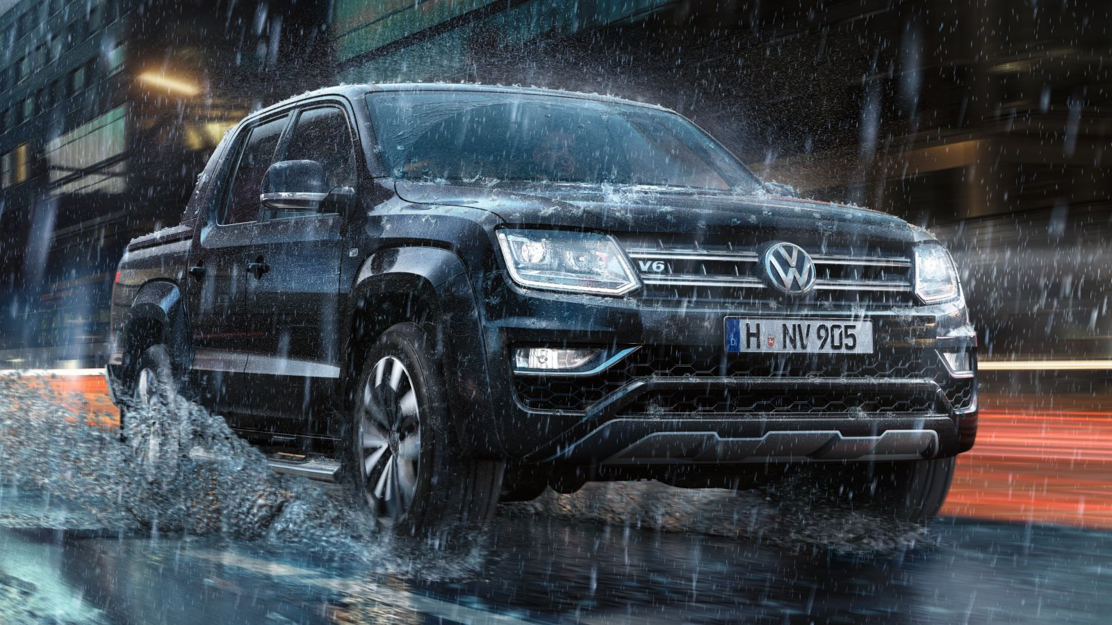 2018 Volkswagen Amarok Gets More Powerful 30 V6 TDI Engine Autoevolution