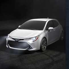 All New Corolla Altis 2019 Interior Grand Avanza E Toyota Hatchback Arrives In North America At