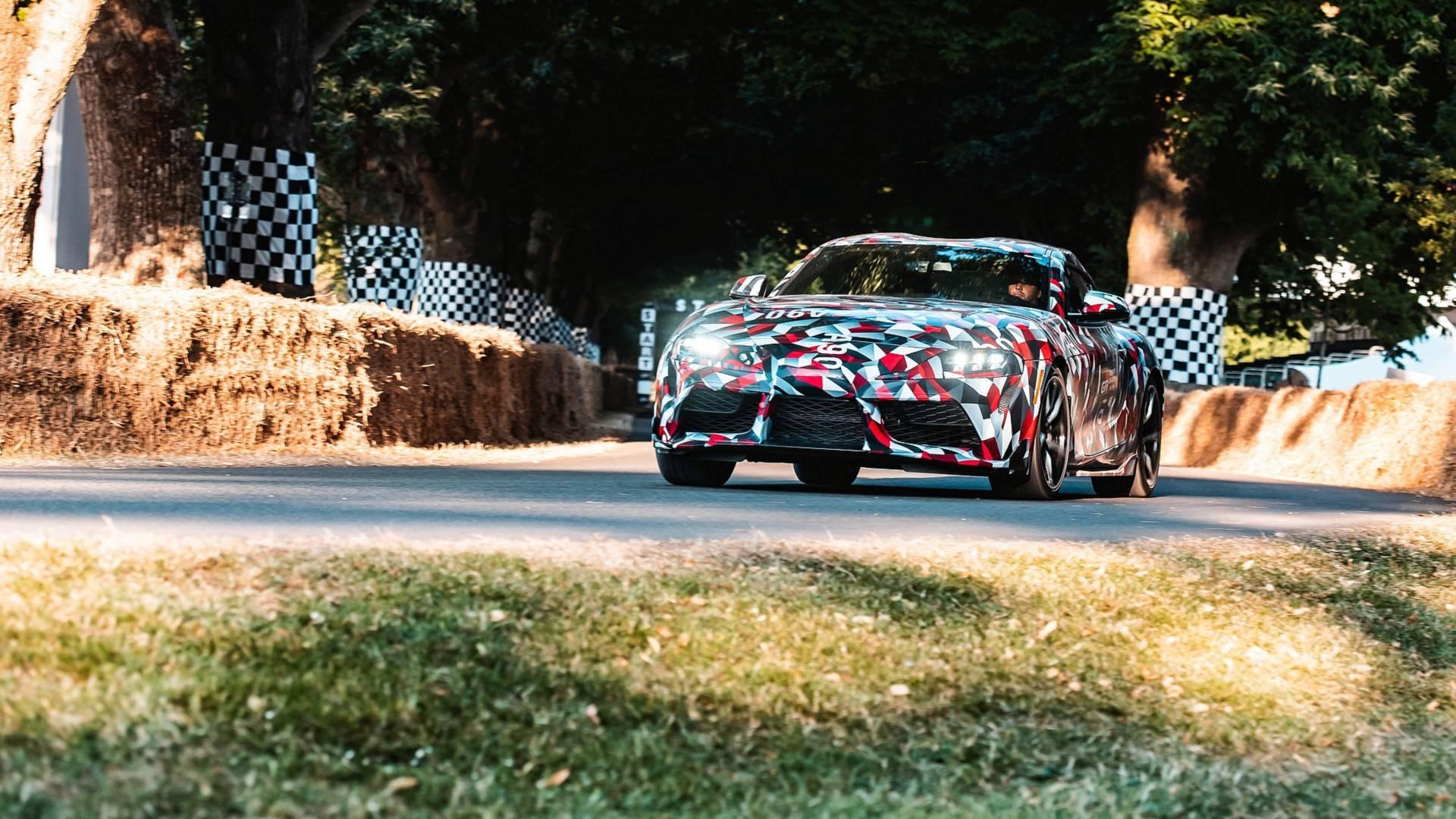 2019 Toyota Supra Interior Spied In Production Trim Shows