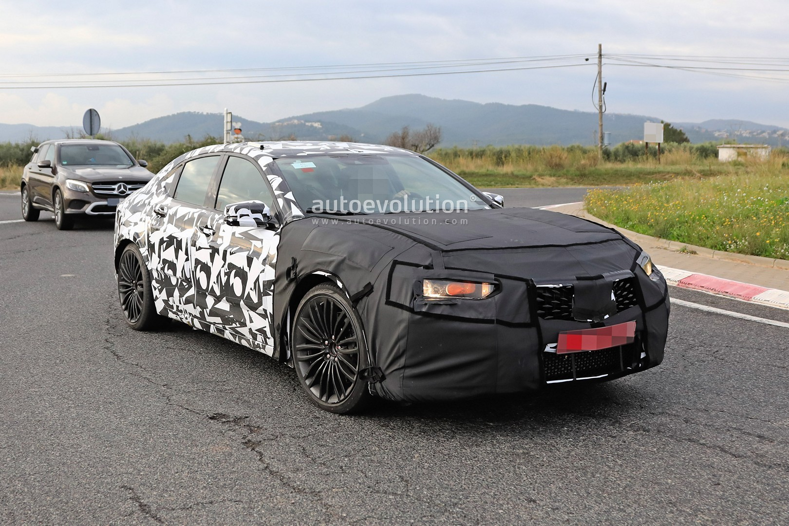 2020 Acura TLX Type S Spied With Audi S4 And AMG C43 V6