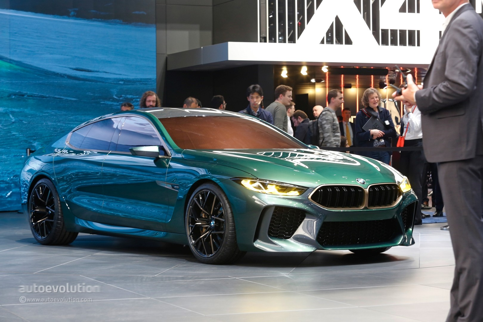 hight resolution of  bmw concept m8 gran coupe
