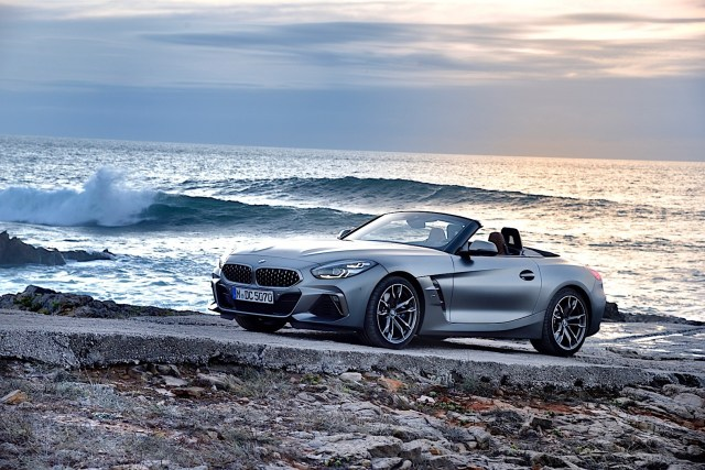 2020 bmw z4 roadster shows stunning details in new photo