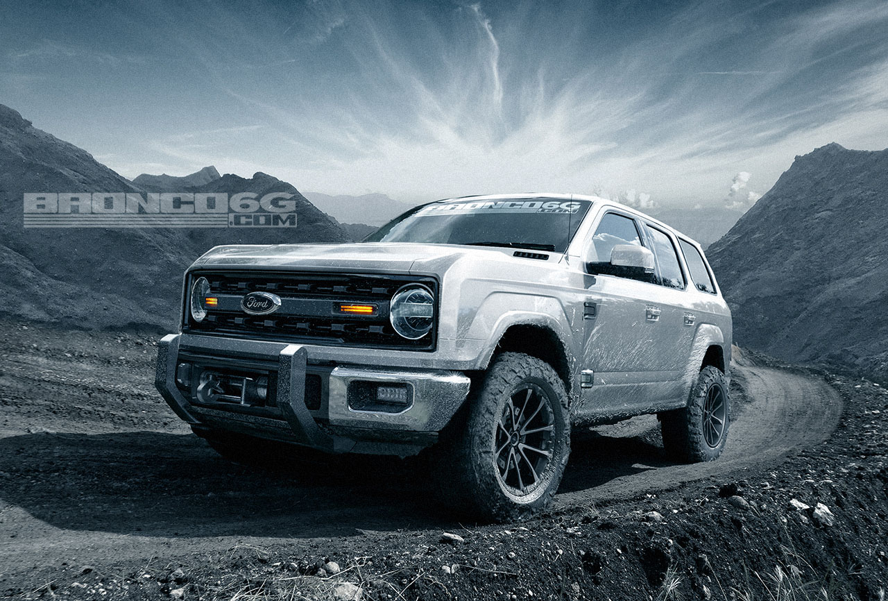 2020 Ford Bronco To Get 325 HP 27L EcoBoost V6 According To Report  autoevolution