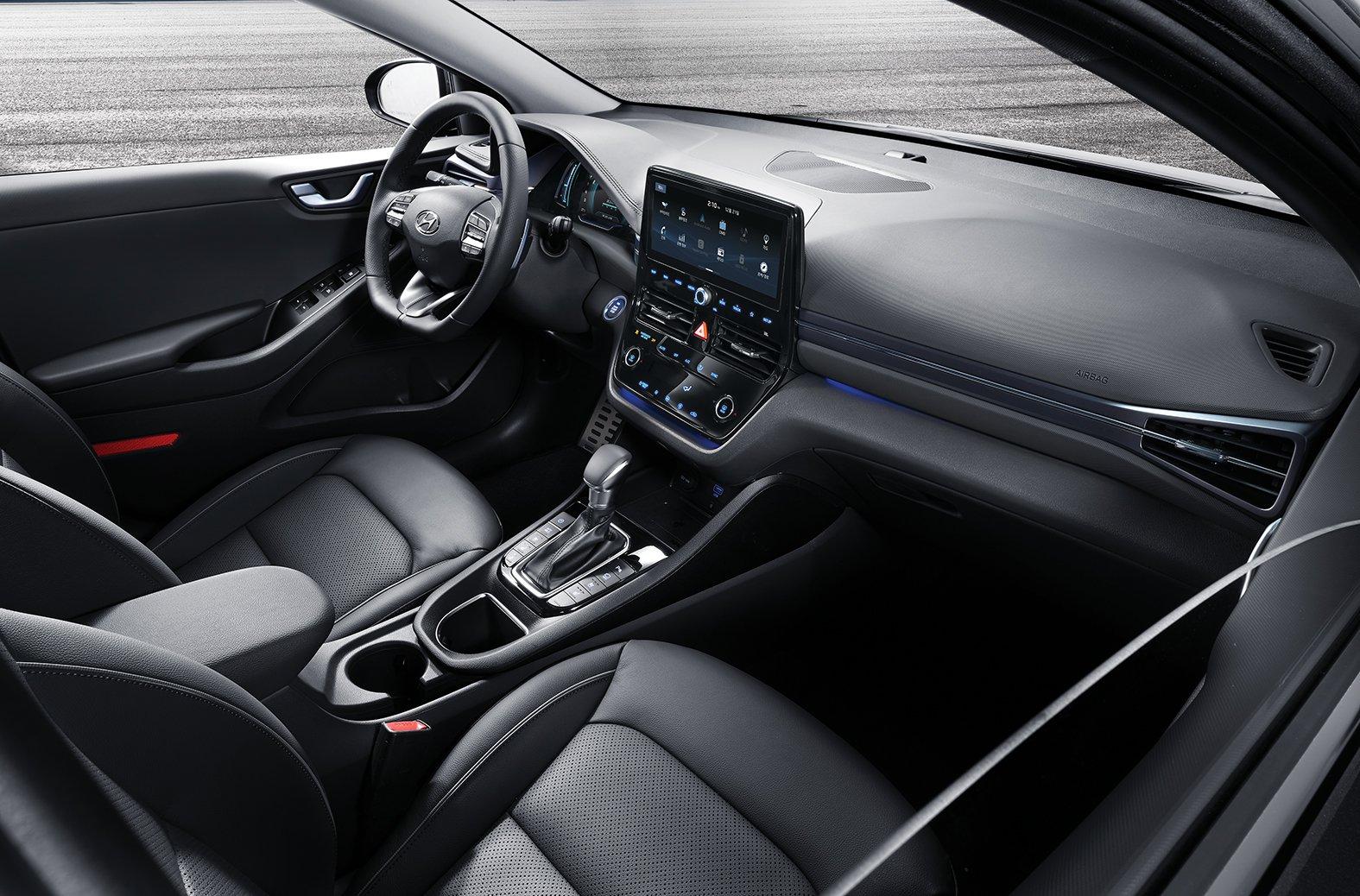 2020 Hyundai Ioniq Adds One Pedal Driving Capability