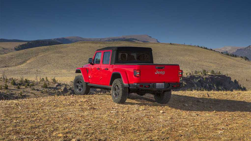 2020 Jeep Gladiator Top Speed Run Ends At 97 MPH ...