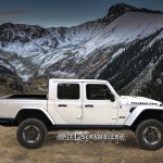2020 Jeep Scrambler Pickup Rendered With Hard Top Soft Top Autoevolution