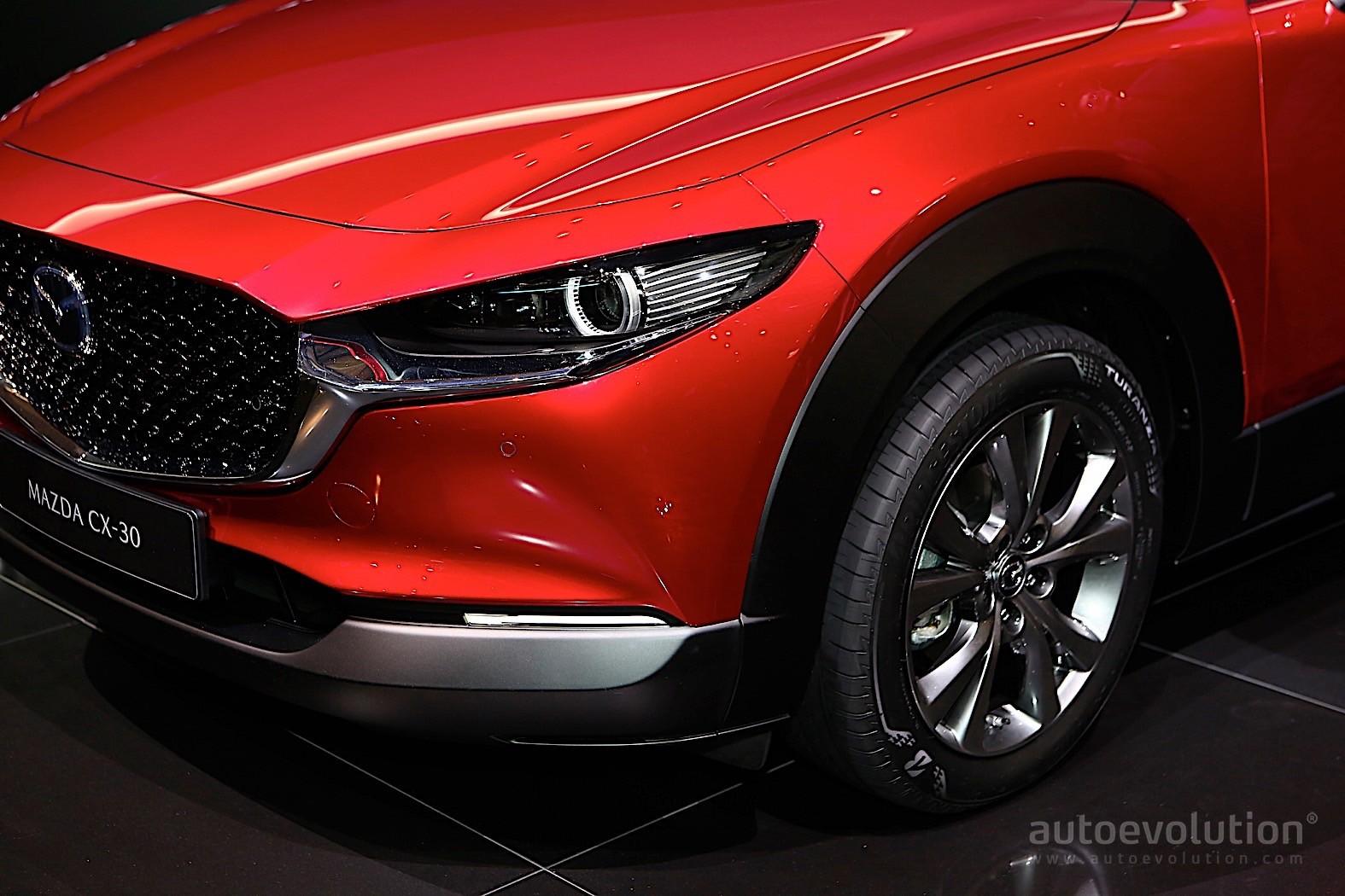2020 Mazda CX30 Crossover Fills Gaps in Geneva  autoevolution
