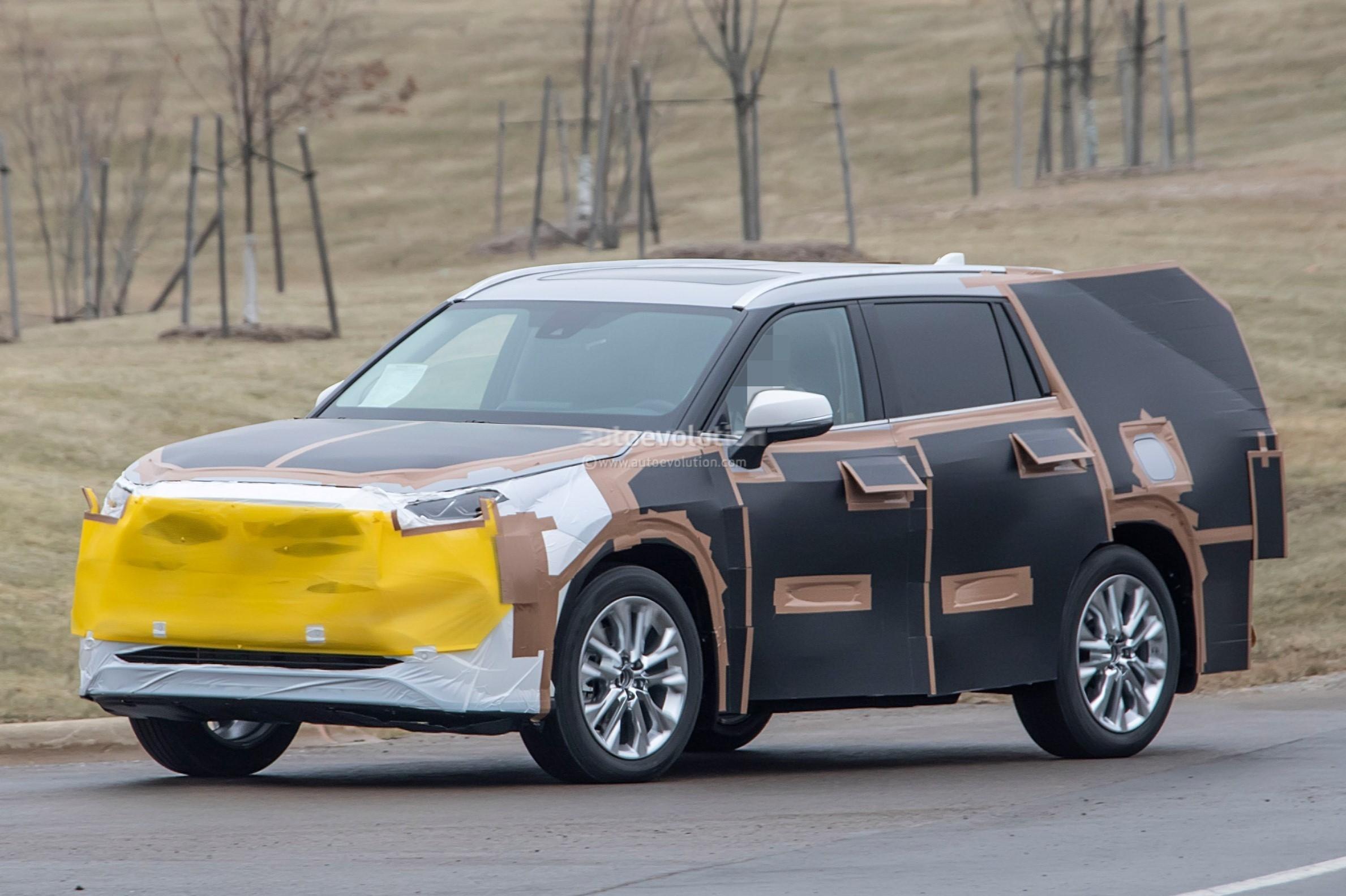 2020 Toyota Highlander Spied Features RAV4 Inspired Front