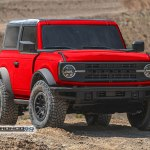 2021 Ford Bronco Sasquatch 2 Door Photoshop Painted In Production Colors Autoevolution