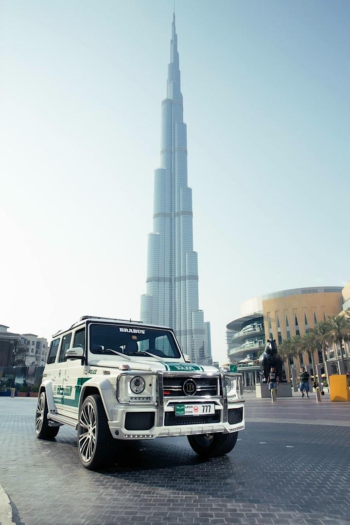 Dubai Police Car Wallpapers 700 Hp Brabus Mercedes G63 Amg Becomes Dubai Police Car