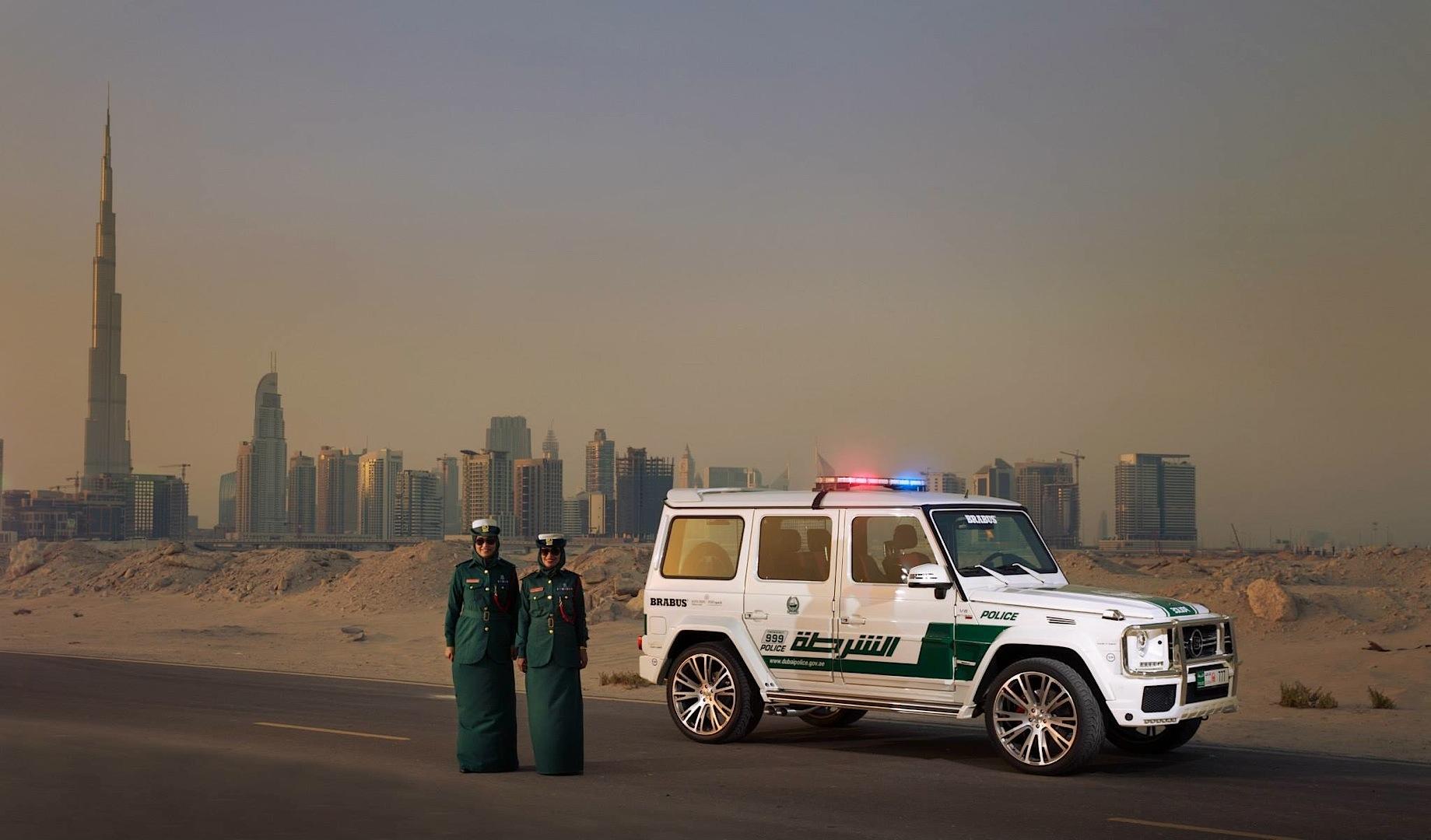 700 HP Brabus Mercedes G63 AMG Becomes Dubai Police Car