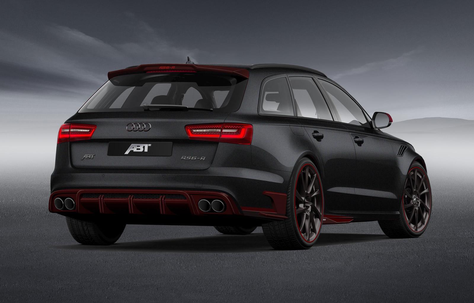 ABT Audi RS6-R Brings 730 HP to Geneva - autoevolution