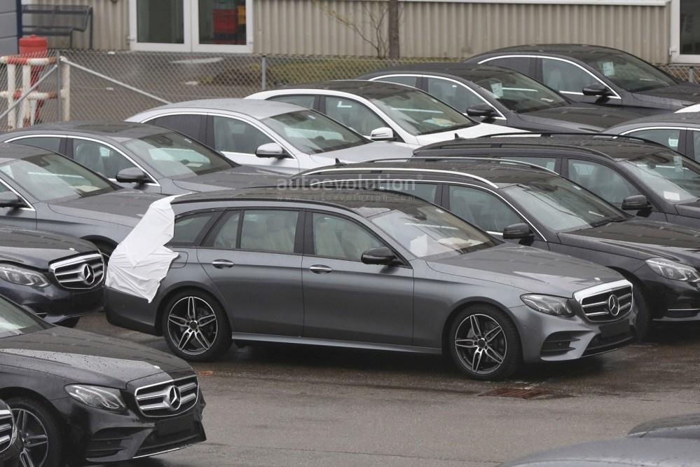 medium resolution of  2017 mercedes e class estate wagon spy photos