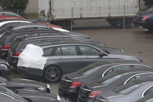 small resolution of  2017 mercedes e class estate wagon spy photos