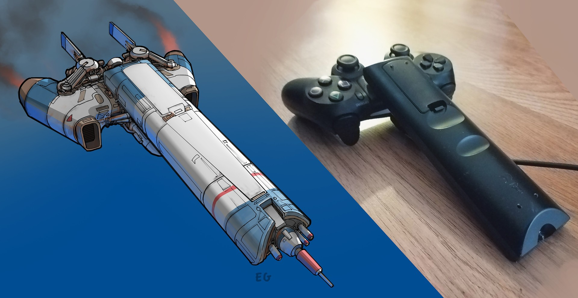 Check Out These Amazing Spaceships Inspired By Simple