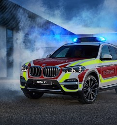 bmw x3 xdrive20d fire service command  [ 1575 x 1050 Pixel ]