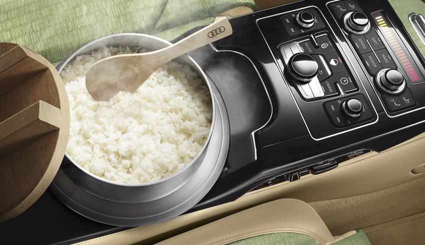 Von stefan grundhoff am 15.06.2019. UPDATE: Audi A8 Gets Built-in Rice Cooker in Japan: For