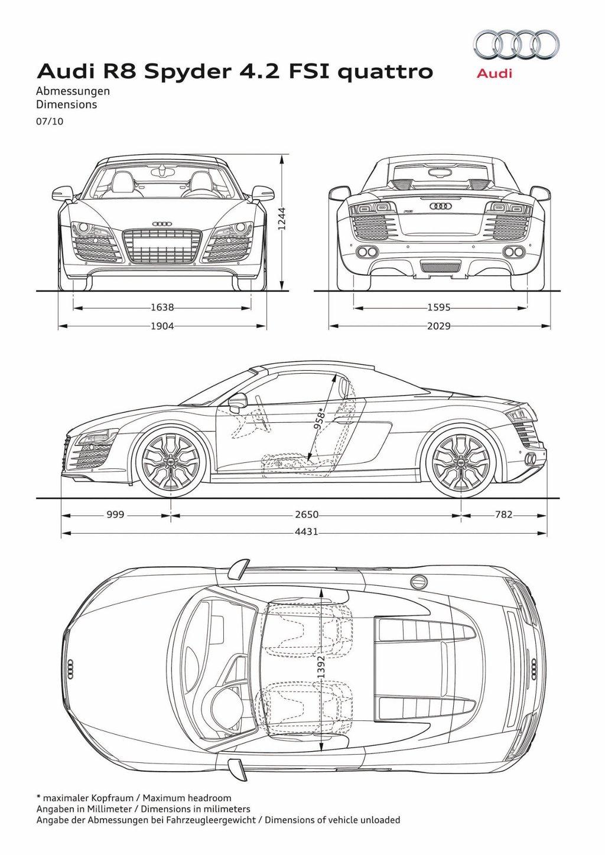 Audi R8 Spyder 4 2 Fsi Quattro Now Available