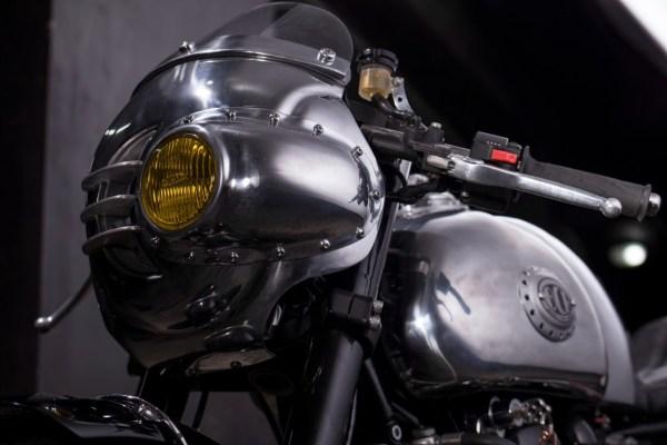 Steampunk Racer Triumph Thruxton