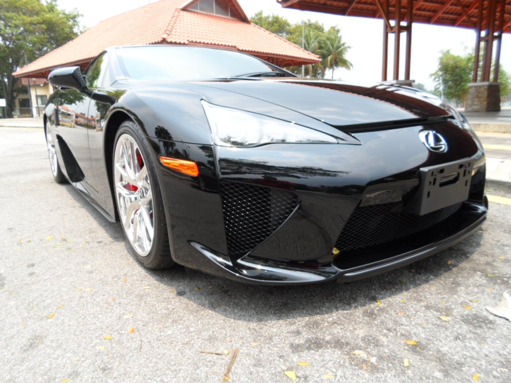 Black Lexus LFA for Sale in the UK Whats Wrong with the Owner  autoevolution