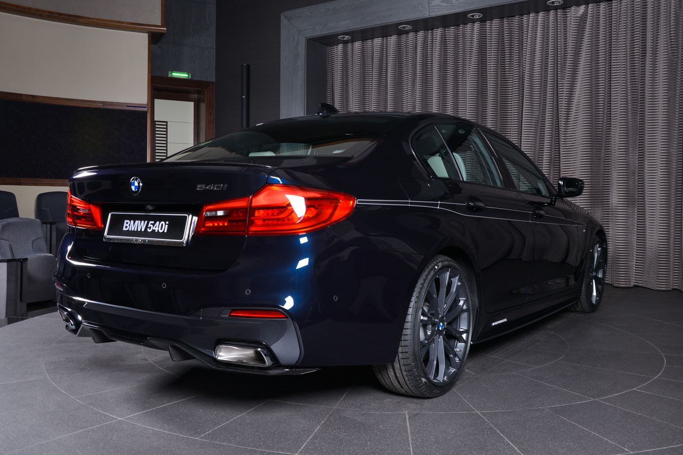 Bmw 540i With M Performance Carbon Kit Sports Carbon Black