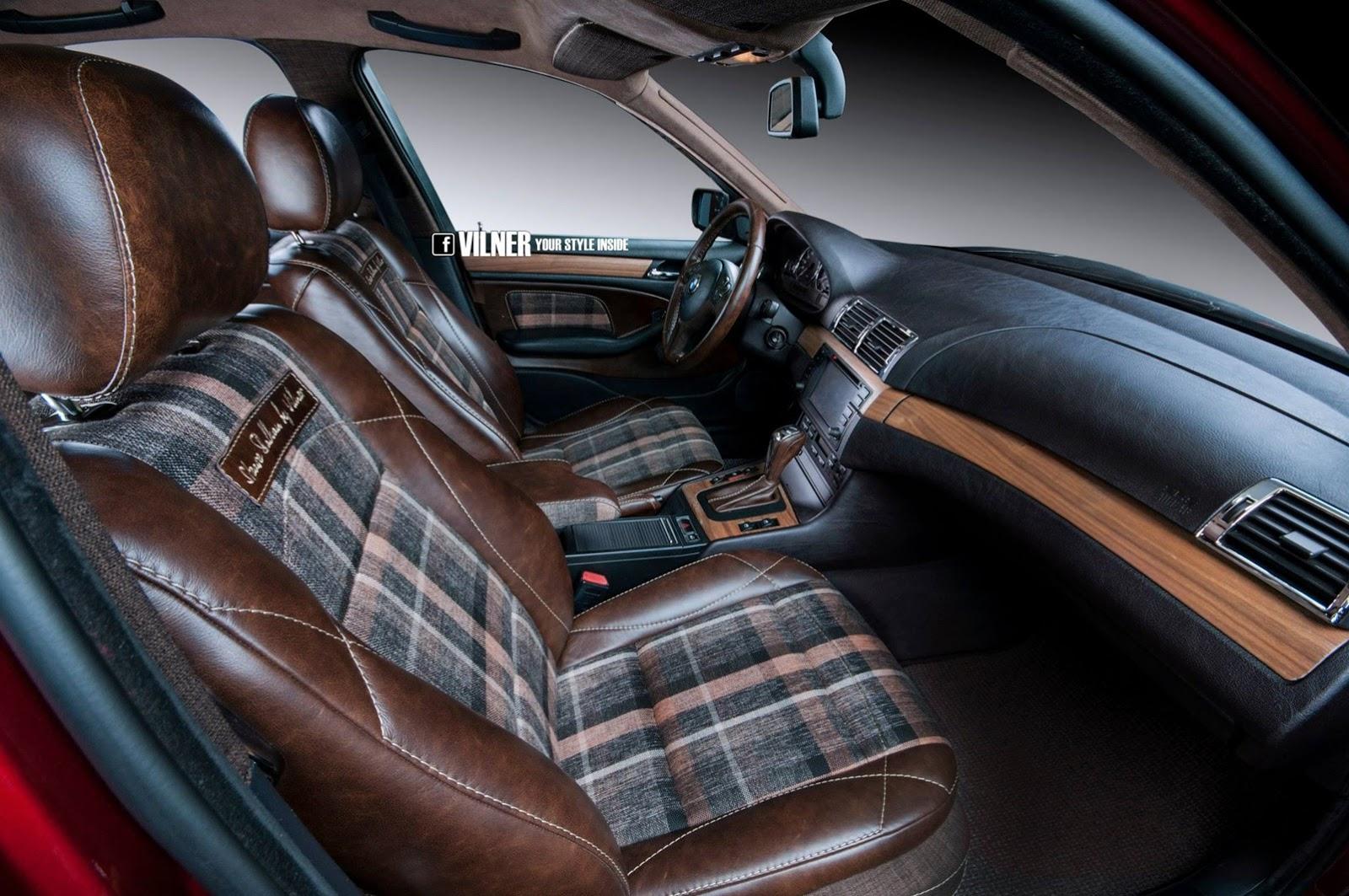 BMW E46 3 Series Gets Hipster Interior From Vilner