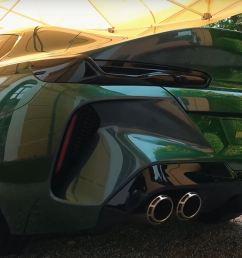 bmw m8 gran coupe concept makes villa d este debut [ 1669 x 855 Pixel ]