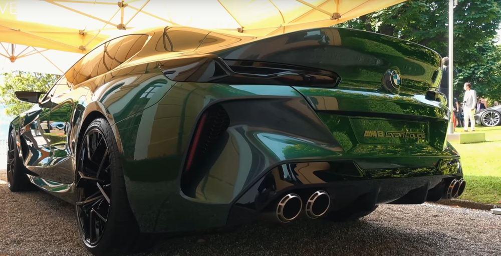 medium resolution of  bmw m8 gran coupe concept makes villa d este debut