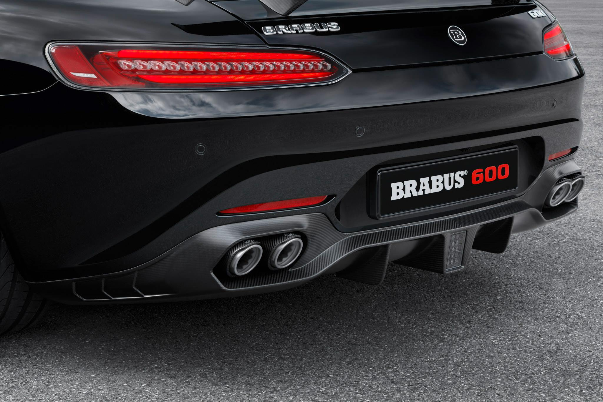Brabus Reveals Tuned Mercedes AMG GT S With 600 HP Ahead